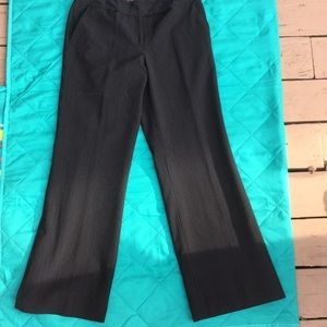 NWOT Chadwick's lined pinstripe trouser work pants